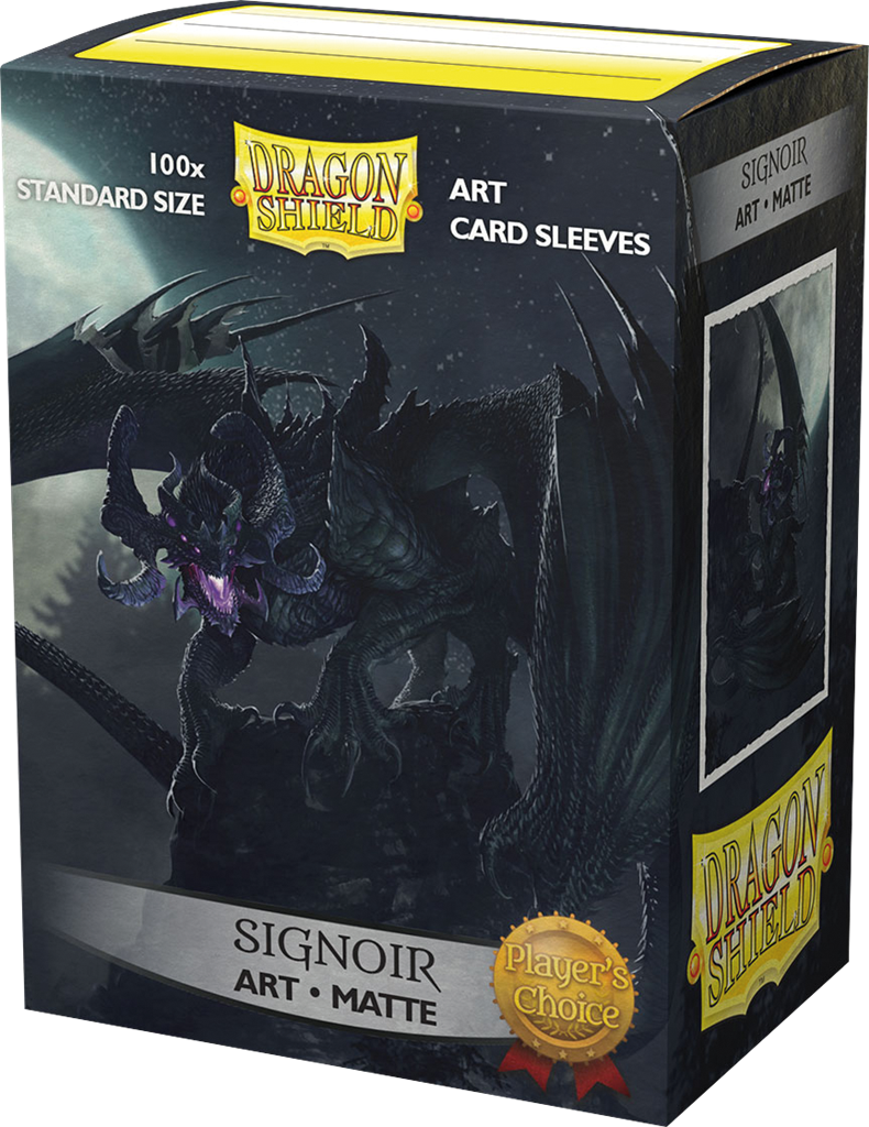 100 Dragon Shield Matte : Art 'Signoir' (10)