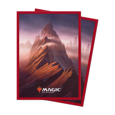 MTG : 100 Unstable Sleeves Montagne (10)
