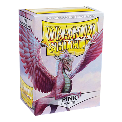 100 Dragon Shield Matte : Pink (10)