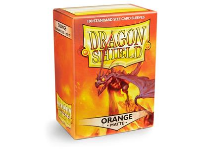100 Dragon Shield Matte : Orange (10)