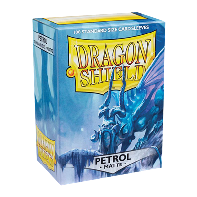 100 Dragon Shield Matte : Petrol (10)