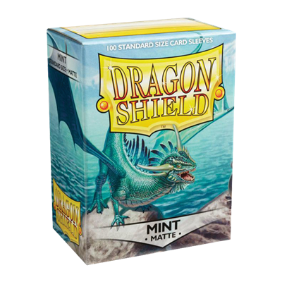 100 Dragon Shield Matte : Mint (10)