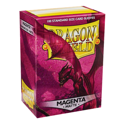 100 Dragon Shield Matte : Magenta (10)