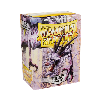 100 Dragon Shield Matte : Lilac (10)
