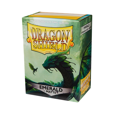 100 Dragon Shield Matte : Emerald (10)