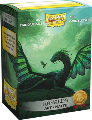 100 Dragon Shield Matte : Art 'Rayalda' (10)