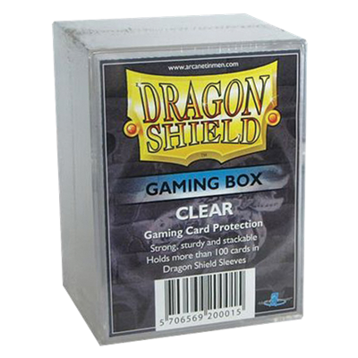 Dragon Shield : Gaming Box Clear