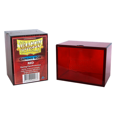 Dragon Shield : Gaming Box Red