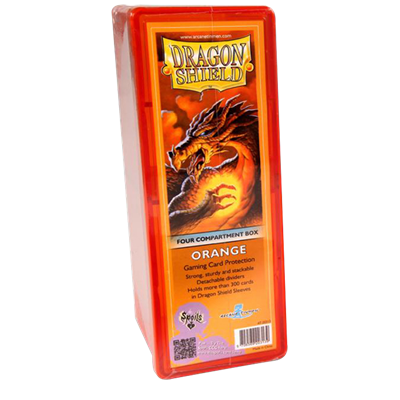 Dragon Shield : Box 4 Compartments Orange