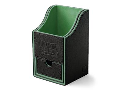 Dragon Shield : Nest Box Black/Green (staple)