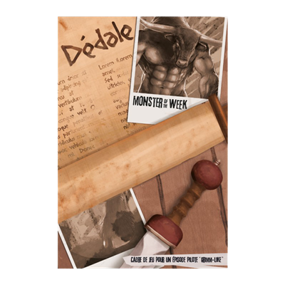 Monster of the Week : Dédale
