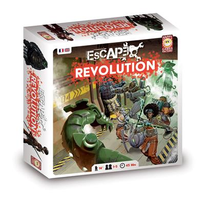 Escape 2.0 – Révolution / Double Starter Set Eden
