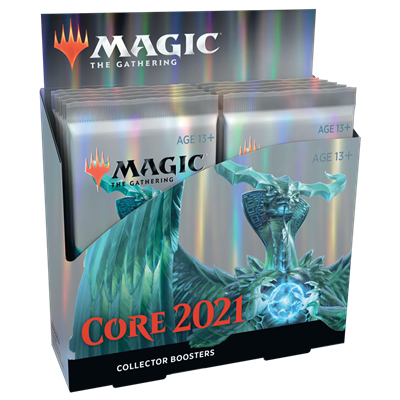 MTG : Core Set 2021 Collector Booster EN (12)