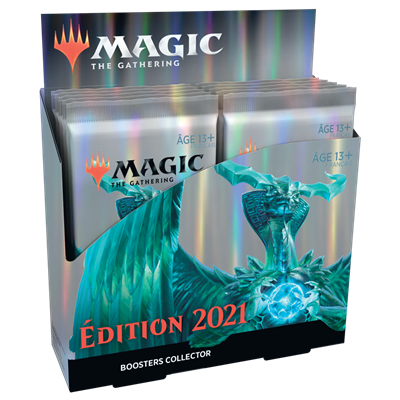 MTG : Core Set 2021 Collector Booster FR (12)