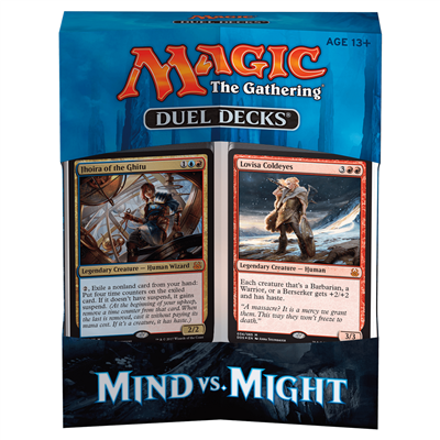 MTG : Duel Deck Mind vs Might EN
